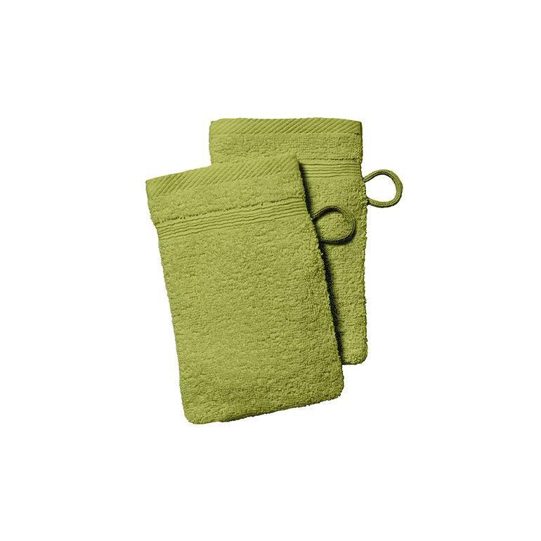Today washandjes Groen - Set van 12